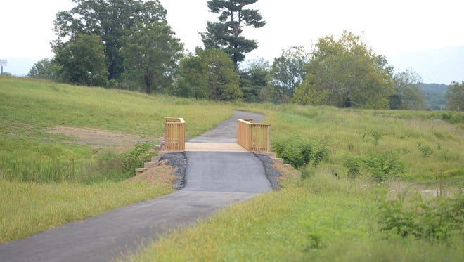 The Trails at Mill Place includes a two-thirds-mile walking trail loop.