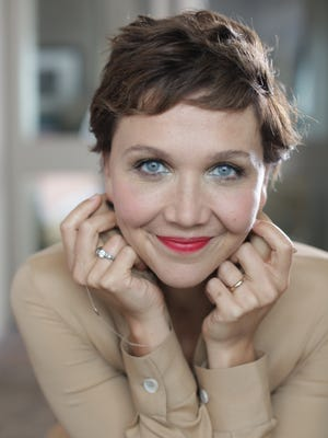 """Maggie Gyllenhaal promotes her new television series, """"The Honorable Woman"""" in New York."""