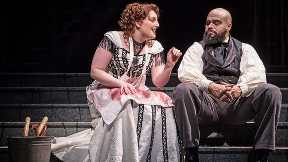 Bri Sudia and Paul-Jordan Jansen perform in Paramount