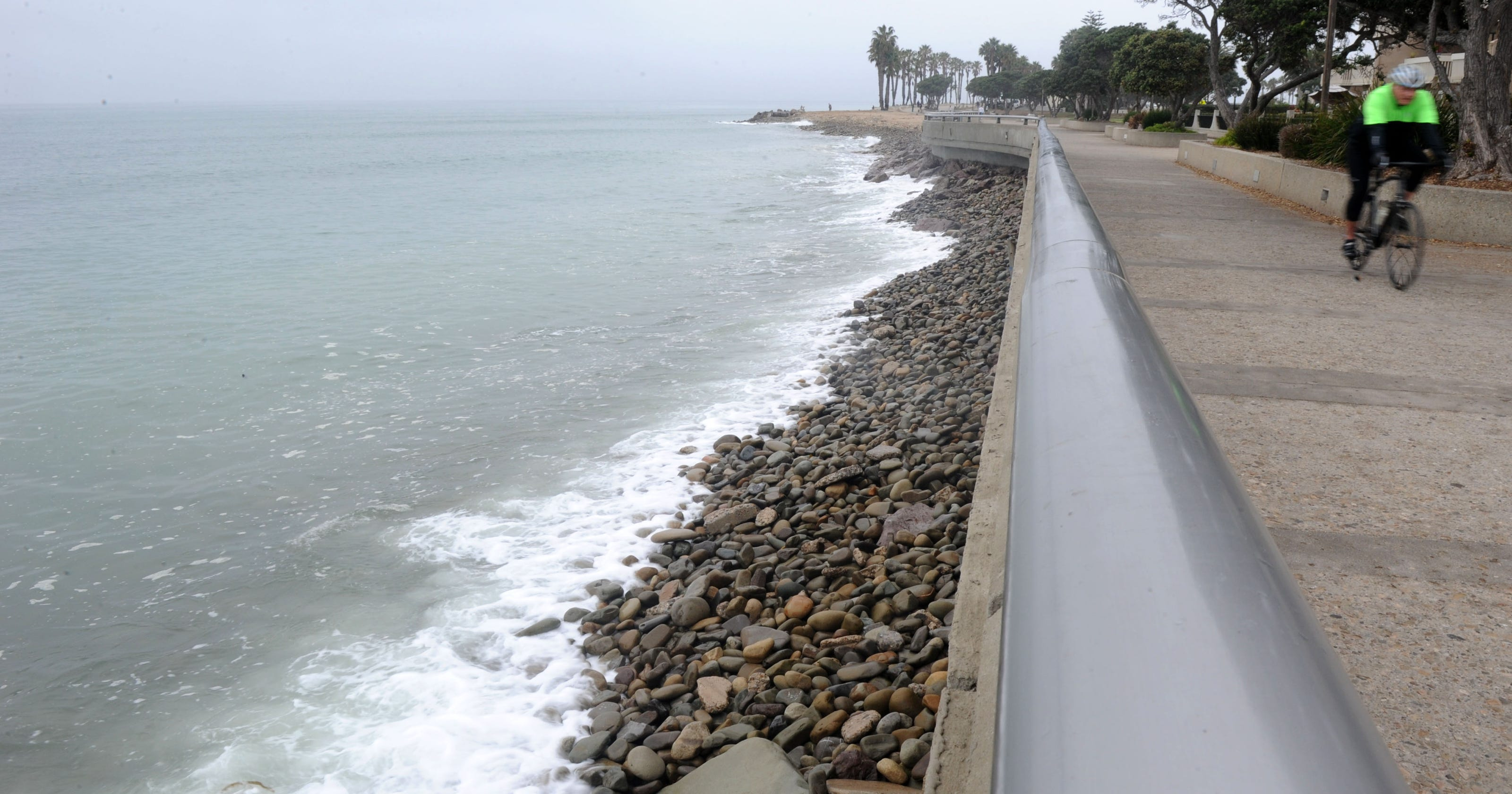 King Tides Hit Ventura County Coast Ahead Of Storm