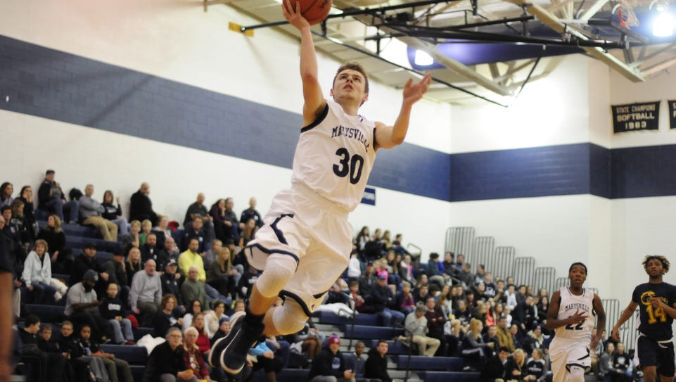 Marysville's Ross Hinkley.