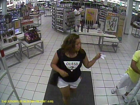 Fragrance thefts suspects