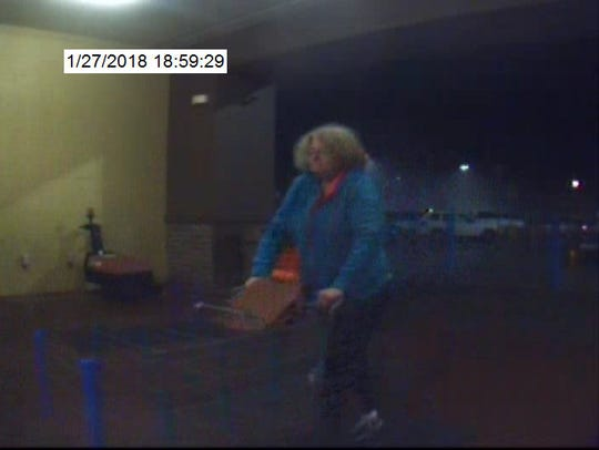 Video surveillance of person of interest in attempted