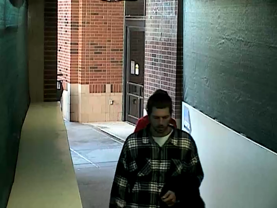 This man is accused of stealing the purse of a hospital