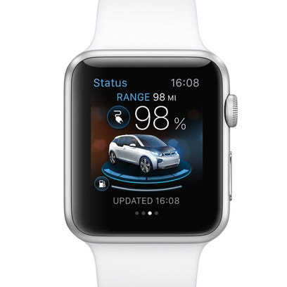 BMW's Apple Watch app will let drivers know if their