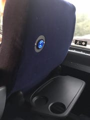 The new Hudson Link buses are outfitted with WiFi, USB ports for charging devices and tray tables for laptops. On its opening day, at least one run had no WiFi and bus operators said they could not reach the command center via the touch-screen at their fingertips.