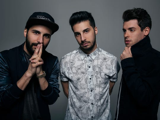 Dace-pop production team Cash Cash plays Saturday night at the New Daisy Theatre.