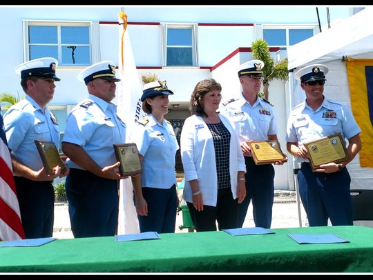 An Adoption Ceremony formalizing the Navy League Treasure