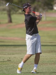 Members of the Junior Association of Golfers compete in a 4-day match play tournament at St. George Golf Club Thursday, July 30, 2015.