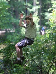 State park admissions are free Sunday, but people still have to pay for amenities such as Go Ape Zip Line & Treetop Adventure at Lums Pond State Park.