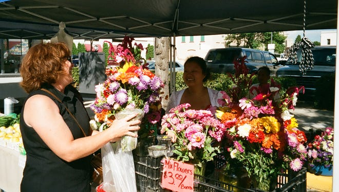 The Farmers Market on Main Street in Fond du Lac is held Saturday and Wednesday.