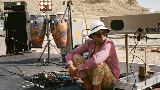 """Singer-songwriter and multi-instrumentalist Chaz Bundick, who releases music under the moniker Tory y Moi, recently recorded the live album and concert film """"Live from Trona"""" in the desert about 2 hours outside of Los Angeles."""