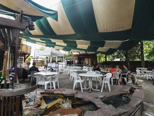Avogadro's Number patio Wednesday, July 15, 2015 in Fort Collins, Colo.