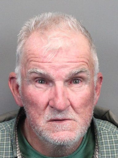 Philip Gerber, 68, was booked April 30, 2015 into the