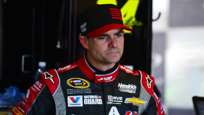 Four-time Sprint Cup champion Jeff Gordon made a strong statement for a fifth with his dominant win at the Brickyard 400 on Sunday.