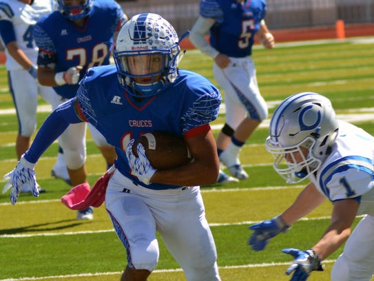 Las Cruces High wide receiver and defensive back Brandon