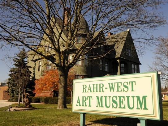The Rahr-West Art Museum in Manitowoc.