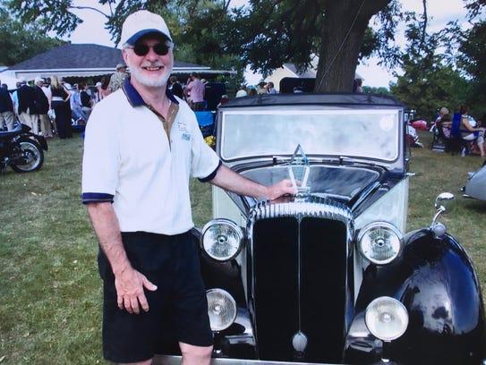 Al Morkunas at the Shenandoah Valley British Car Club,