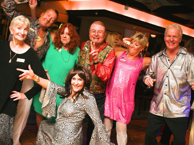 'Night Fever': Everyone got into the act at the Yacht
