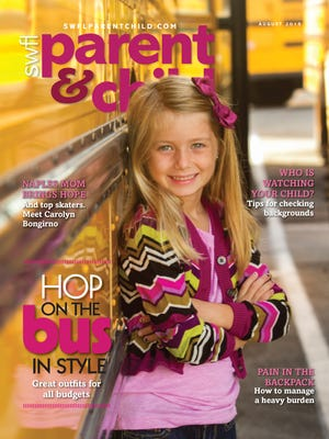 Meadow Schilke, 6, of Cape Coral is on the cover of our back-to-school issue.