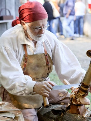 The Prairie Peddler Festival features American-made, handcrafted goods with entrepreneurs dressed in time period clothing demonstrating their crafts.