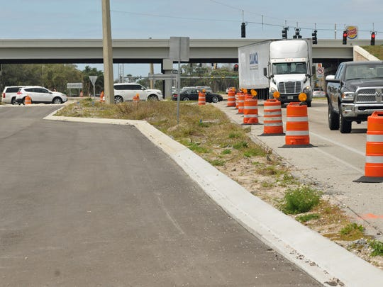 Work on the Wickham Road widening project in Viera