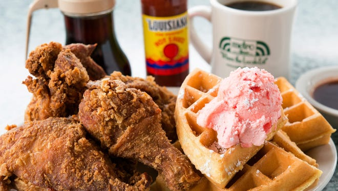 Fried chicken and waffles are a house special at Metro Diner. A new location is opening this June in Middletown.