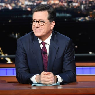 Stephen Colbert dissects President Trump's post-Russia-summit double-negative