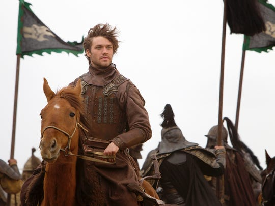 "Lorenzo Richelmy in a scene from Netflix's ""Marco Polo."""