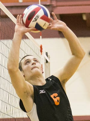 Carter Luckenbaugh had 54 assists on Monday for Central York.