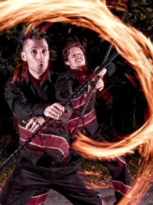Fire arts will be on display during A Night of Fire at Philipsburg Manor. A Different Spin