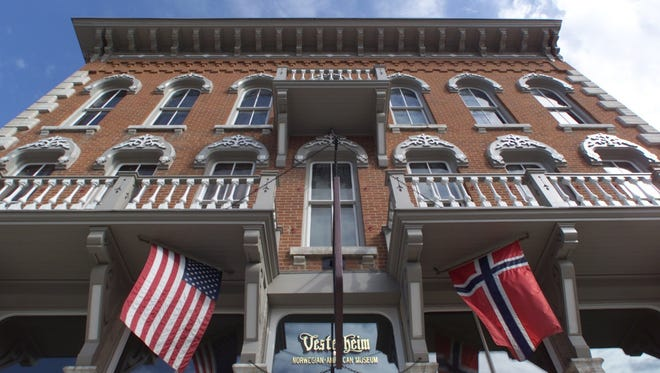 The Vesterheim Norwegian-American Museum Heritage Center in downtown Decorah is one of the country's best places to see folk art.