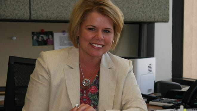 The Maricopa County Board of Supervisors named chief financial officer and assistant county manager Shelby Scharbach as interim county manager on April 4, 2016.