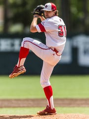 Wyatt Marks threw 3.0 perfect innings in relief of