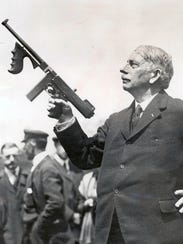 Gen. John T. Thompson, inventor of the Thompson submachine