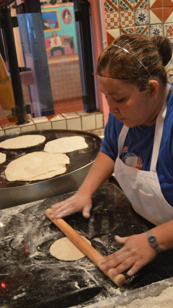 Chuy's is known for its hand-rolled tortillas, scratch-made
