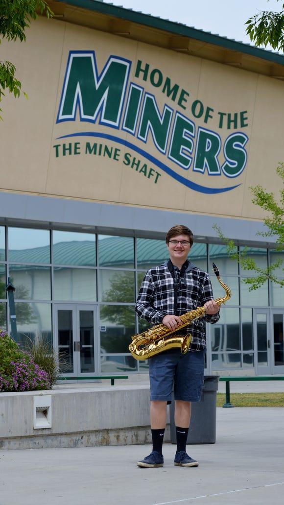Christopher Hornung, 17,  is a senior at El Diamante