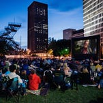 Catch 'Hidden Figures' for free downtown and under starlight July 14