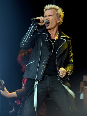 Billy Idol performs at the Grand Sierra Resort August