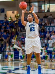 China Dow's 3-point game has improved greatly and that's helped all of FGCU's players.