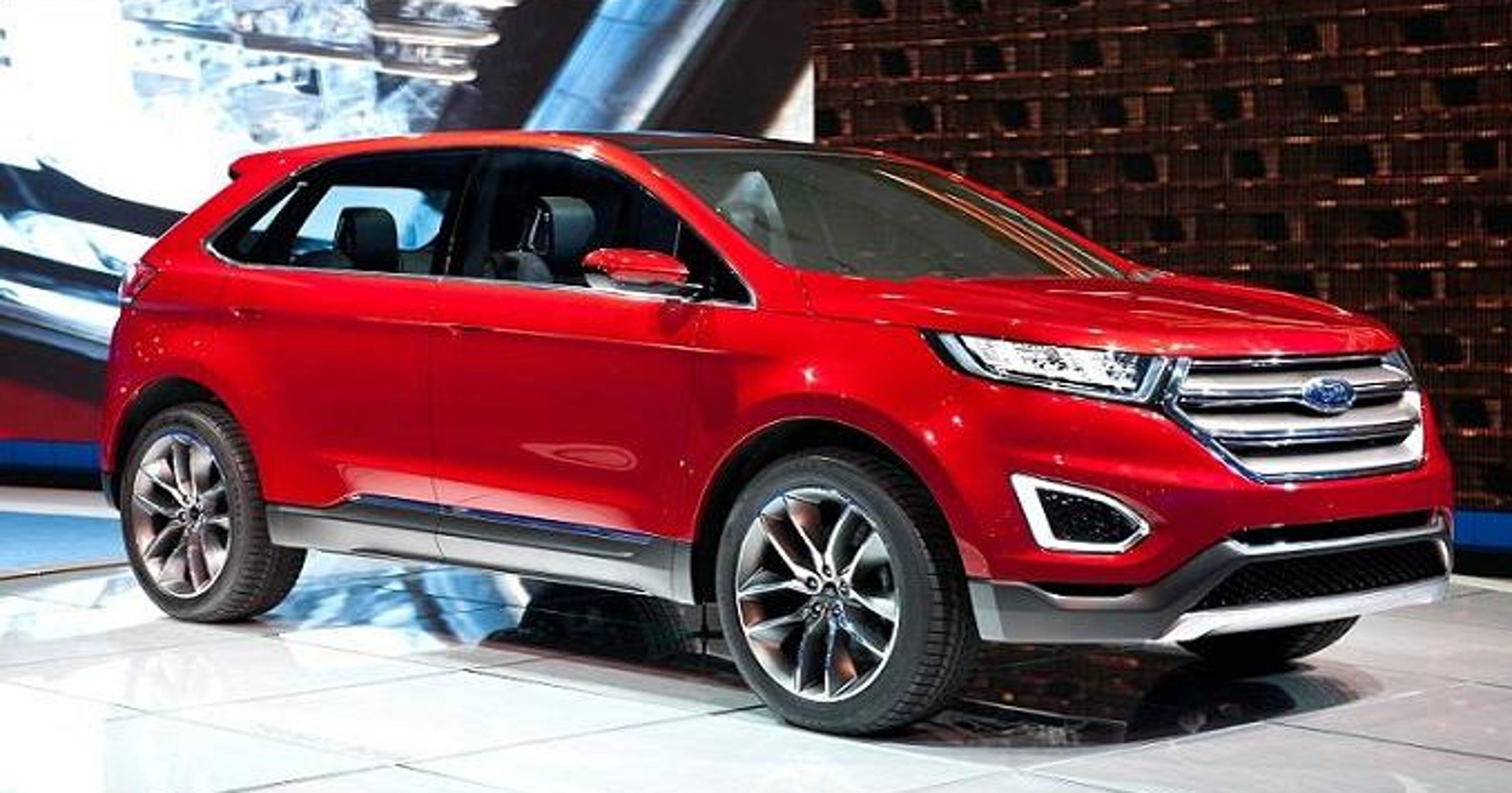 car review 2016 ford edge titanium crossover suv. Black Bedroom Furniture Sets. Home Design Ideas