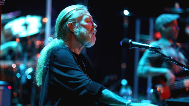 Gregg Allman performs in Kodak Hall at Eastman Theatre doing the Jazz Festival.