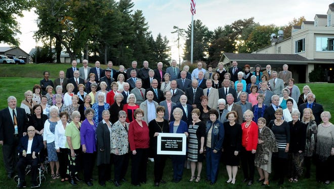 Delone Catholic High School's Class of 1965 celebrated its 50th reunion on Oct. 17 at Hanover Country Club.
