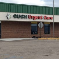 Ouch Urgent Care opened last month in the Southpoint Mall in St. Johns. The facility offers a variety of urgent care medical services for area residents.