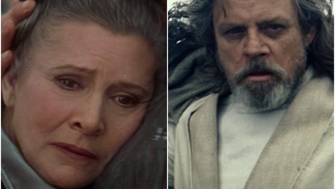 """Disney CEO Bob Iger is assuring fans that the late Carrie Fisher appears """"throughout"""" 'The Last Jedi' and that there will be no digitized Leia."""