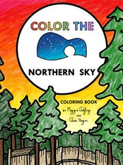 """""""Color the Northern Sky"""" is a new coloring book by"""
