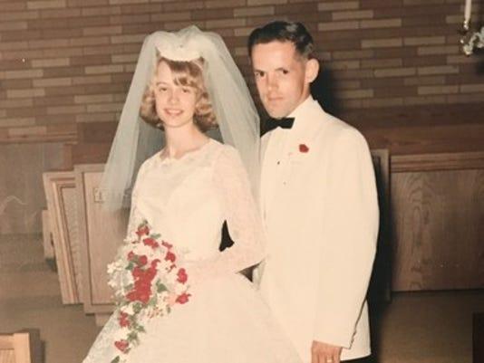 Anniversaries: Betty Jo Knapp & Richard Knapp