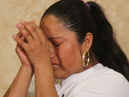 Rita Hernandez, the mother of missing girl Diana Alvarez,