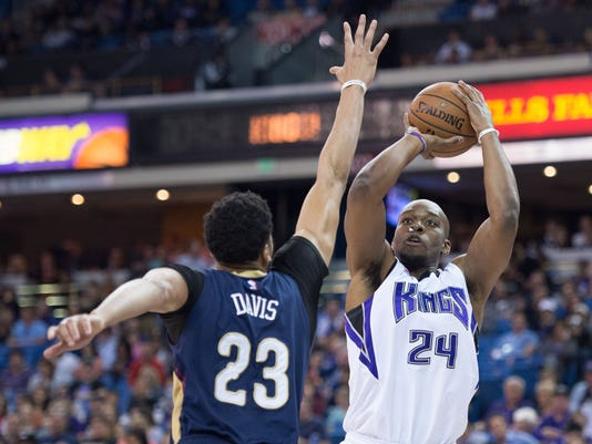 NBA: New Orleans Pelicans at Sacramento Kings