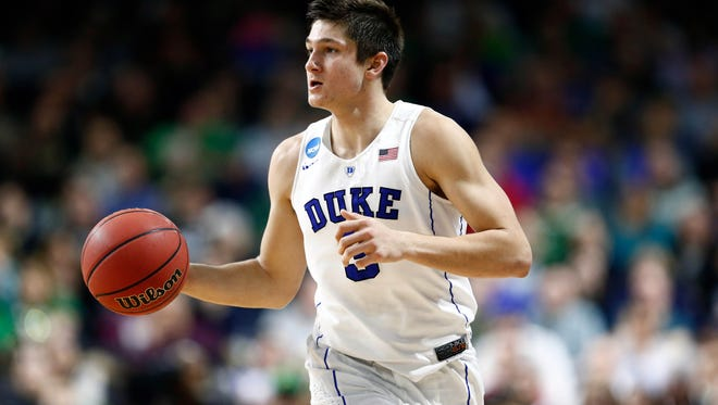 Duke's Grayson Allen is the favorite to be named the preseason player of the year.